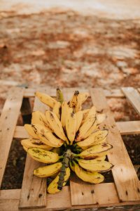 Bananas on a pallet